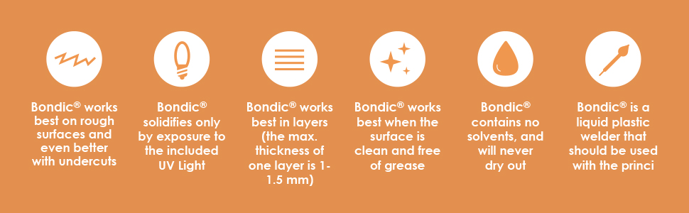 How to Clean Skin if Welder gets Bondic